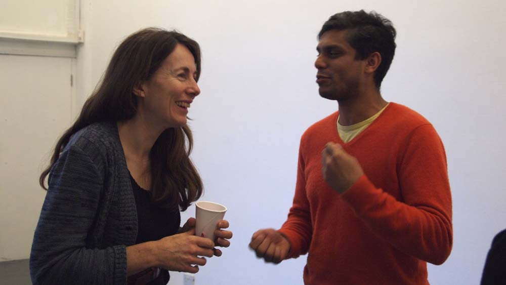 Melanie Rolfe, Sculpture Curator, New Acquisitions, Tate and Haroon Mirza, Artist